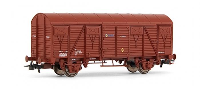 electrotren EL12000 Wagon fermé J, oxyde rouge