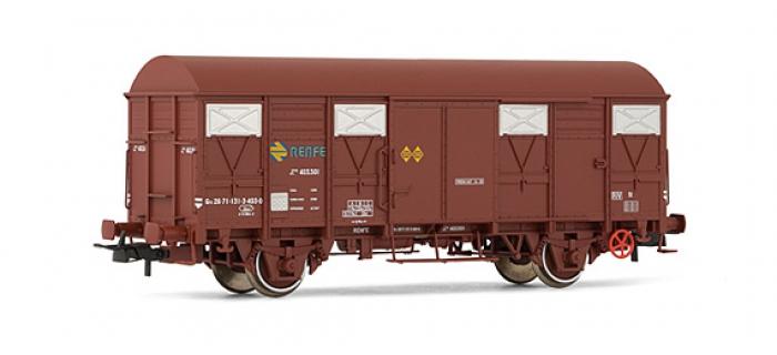 electrotren EL1810 Wagon couvert, ORE-1, RENFE, état d'origine