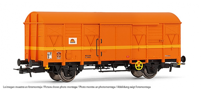 electrotren EL1822 Wagon Couvert G40