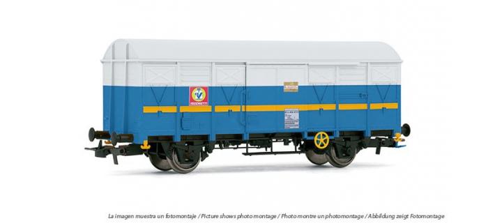 ELECTROTREN 1830  Wagon couvert G40 Vechietti