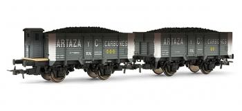 electrotren EL19002 Coffret 2 wagons vieillis, série X, RENFE