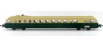 electrotren EL2124 Autorail ABJ-4 Touristique vert & crème