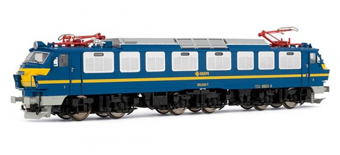 electrotren EL2583S Locomotive Electrique 251.006, bleu et jaune, RENFE