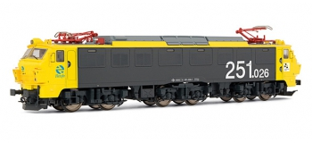 electrotren EL2588S Locomotive Electrique 251.026, Mercancias RENFE