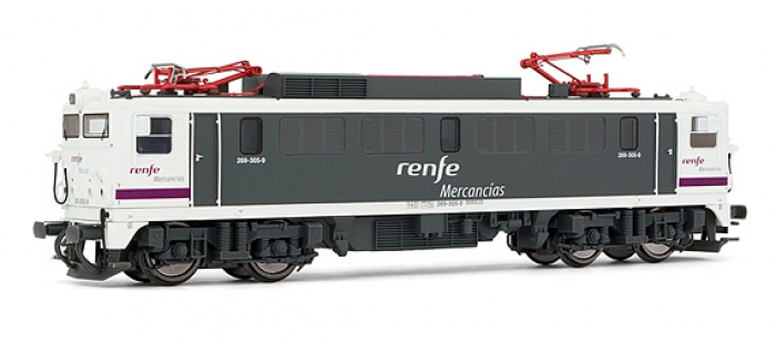 electrotren EL2630 Locomotive Electrique 269.305, AC Digital, Renfe