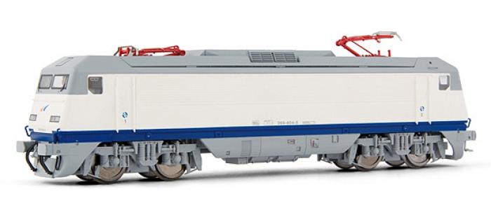 electrotren EL2694D Locomotive Electrique 269.604, Blanc et Gris, Grandes Lineas