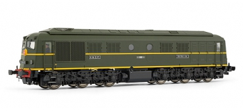 electrotren EL2801 Locomotive Diesel 060DA-16, SNCF, AC Digital (CC 6500