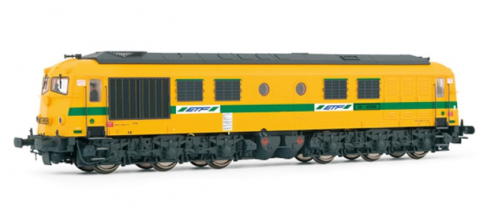 ELECTROTREN 2804S Locomotive Diesel CC 65505 ETF, DC Digital Son