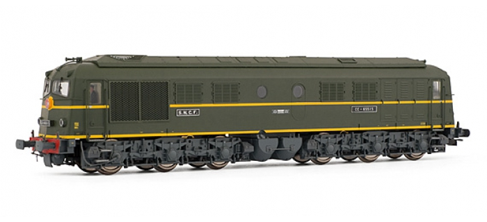 ELECTROTREN 2820S - Locomotive Diesel CC 65515 digital Son