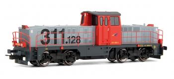 electrotren EL2906D Locomotive Diesel 311.128 Grandes Lineas, RENFE