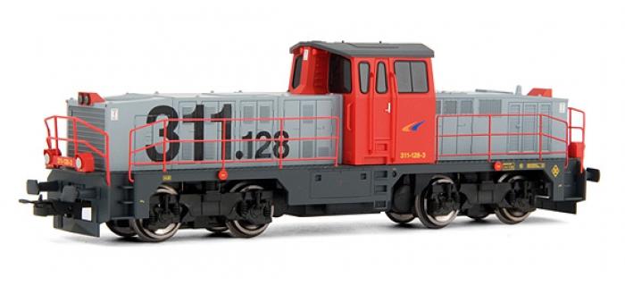 electrotren EL2906 Locomotive Diesel 311.128 Grandes Lineas, RENFE