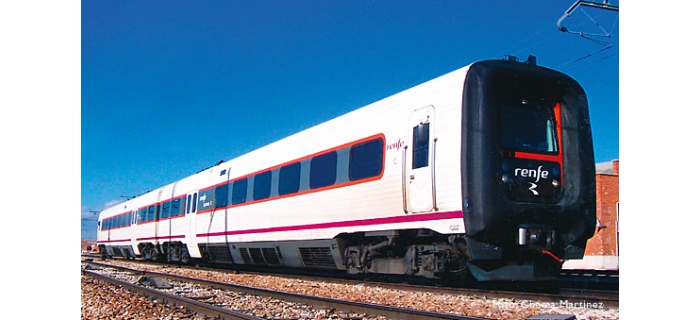 electrotren EL3513S Train diesel TRD Regional, RENFE operadora