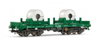 electrotren EL5165 Wagon plat, type Rmms, chargé avec fuseaux