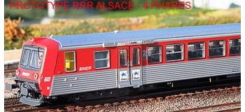 Train électrique : EURO PASSION MODELS EPM 41.09.08 - Rame réversible régionale RRR Alsace