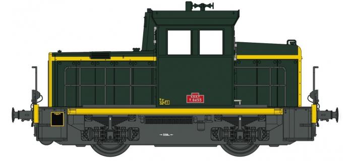 Modélisme ferroviaire : EURO PASSION MODELS EPM123315 - Locotracteur diesel Y-6553