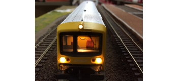 TRAIN MINIATURES RAME RRR