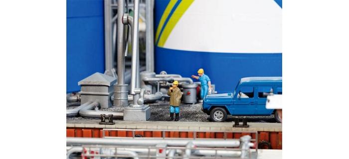 FALLER F130485 - Parc à réservoir dépot carburant ARAL