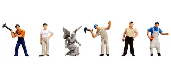 Figurines FALLER F151094 - Sculpteurs