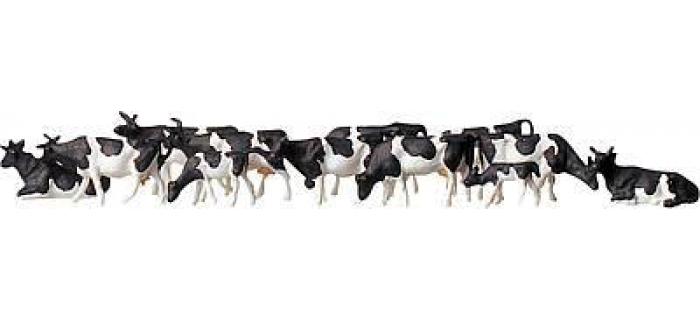Modélisme ferroviaire : FALLER F158050 - Vaches taches noires Z