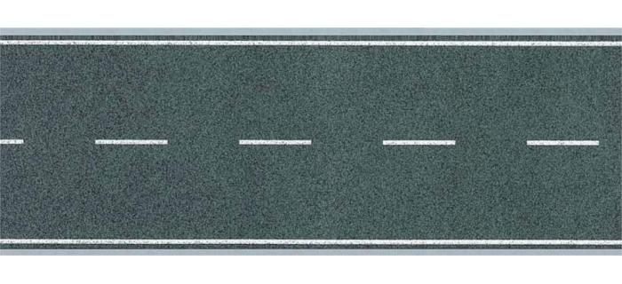 Modélisme ferroviaire : FALLER F170630 - Feuille de route, souple, ligne droite.