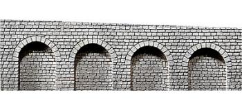 Modélisme ferroviaire : FALLER F170840 - Arcades Pierre taillé N