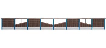 Maquette FALLER F180422 - Paroi mur anti bruit en bois