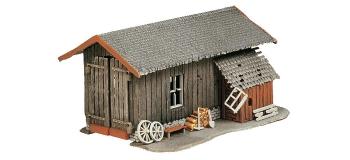 F130379 - Four à pain, chapelle, hangar à outils - Faller