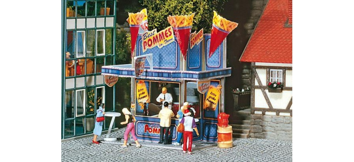 F140444 - Stand forain Pommes frites XXL - Faller