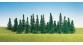 F181440 - Sapins assortis, 30 pièces - Faller