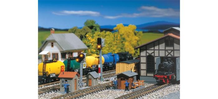 Modélisme ferroviaire : COLLECTION R37 ; R37-HO41015RS Remorque XR BD 9204 DCC (rouge crème) Ep IIIb
