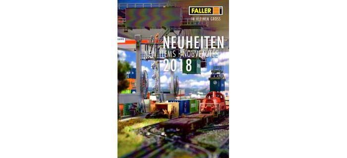 FALLER-CAT2018-N - Brochure Faller - Nouveautés  2018 - Faller