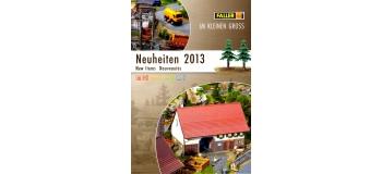 FALLER-CAT2013-N - Brochure Faller - Nouveautés  2013 - Faller