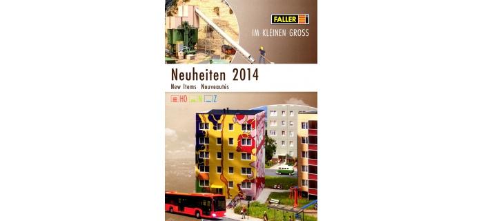 FALLER-CAT2014-N - Brochure Faller - Nouveautés  2014 - Faller