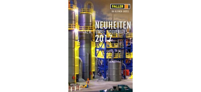 FALLER-CAT2017-N - Brochure Faller - Nouveautés  2017 - Faller