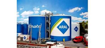 Modélisme ferroviaire : FALLER F130485 - Parc à réservoir dépot carburant ARAL