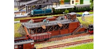 Modélisme ferroviaire Maquette FALLER F222163 - Monte charge + charbon N