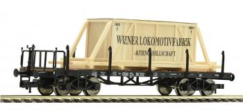 FL528502 - Wagon plat type SSk avec chargement, OBB - Fleischmann