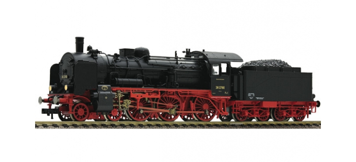 Modélisme ferroviaire :  FLEISCHMANN FL416803 - Locomotive à vapeur BR 38.10, DRG