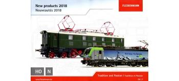 FL991821 - Catalogue Fleischmann Nouveautés 2018 - Fleischmann