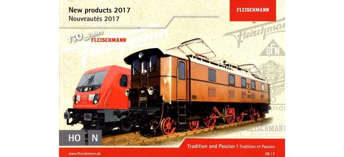 FL991721 - Catalogue Fleischmann, Nouveautés 2017 - Fleischmann