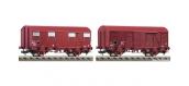 Train électrique : FLEISCHMANN FL531006 - Set de 2 wagons de marchandises SNCF