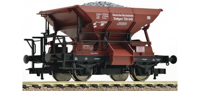 Modélisme ferroviaire : FLEISCHMANN FL550602 - Wagon à ballast Talbot DRG
