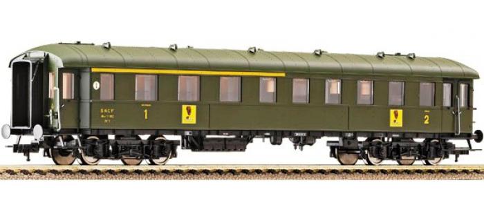Train électrique : FLEISCHMANN FL567601 - Voiture Bastille 1ère/2ème classe logo Banania SNCF