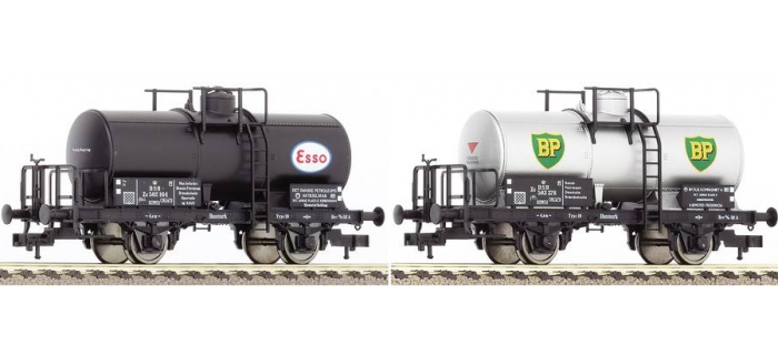 FL581107 Set 2 wagons citerne DSB