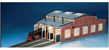 Modélisme ferroviaire :FLEISCHMANN FL6476 - Remise locos