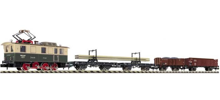 FL781104 Locomotive électrique + wagons travaux DRG