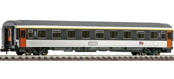 Train électrique : FLEISCHMANN FL8144823- Voiture voyageurs 2ème classe CORAIL SNCF (N)