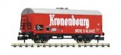 Train électrique : FLEISCHMANN FL832601 - Wagon couvert de transport de bière « Kronenbourg », SNCF - N