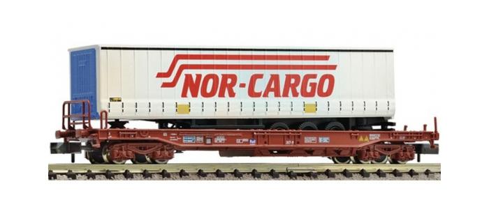 Modélisme ferroviaire : FLEISCHMANN FL845331 - Wagon poche NOR-CARGO