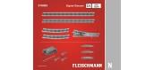 Modélisme ferroviaire : FLEISCHMANN FL919083 - DCC digitale, coffret de rails Ü1